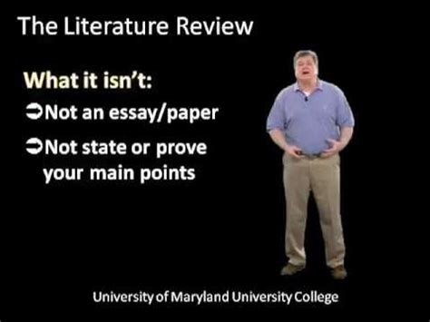 How To Write A Good Scientific Literature Review - Enago